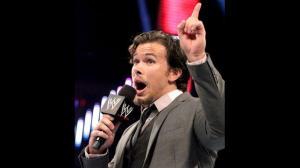 Brad Maddox addresses the WWE Universe on Raw, July 15, 2013.