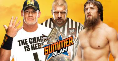 WWE Summerslam comes live Sunday from the Staples Centre in Los Angeles. PHOTO: WWE.com