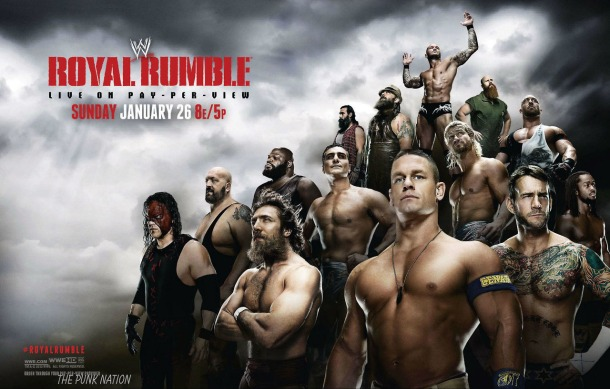 The 2014 WWE Royal Rumble goes live on Jan. 26, 2014. PHOTO via WWE.com