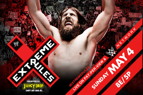 WWE Extreme Rules goes live May 4 on  PPV  and the WWE Network. PHOTO COURTESY OF WWE.COM