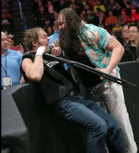 Bray Wyatt will take on Dean Ambrose in a TLC match on Sunday. Photo: WWE.com