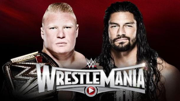 Brock Lesnar and Roman Reigns will battle for the WWE World Heavyweight Championship on Sunday at Wrestlemania 31 at Levi's Stadium in Santa Clara, California. PHOTO: wwe.com