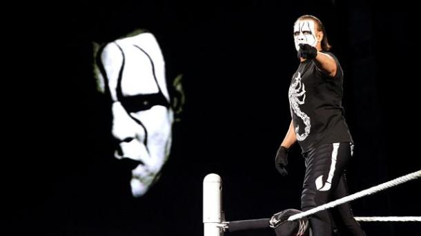 Sting challenges Seth Rollins for the WWE World heavyweight Championship at Night of Champions on Sunday, September 20, 2015. PHOTO: WWE.com