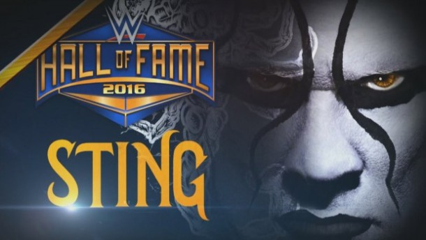 WWE Superstar Sting has been named the first entrant into the WWE Hall of Fame 2016. PHOTO: wwe.com