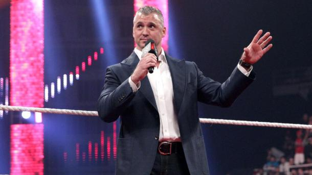 Shane McMahon makes his shocking return to WWE RAW on Monday, Feb. 22, 2016. PHOTO: wwe.com