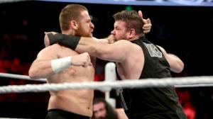 Sami Zayn and Kevin Owens will duke it out at WWE Payback. Photo: wwe.com