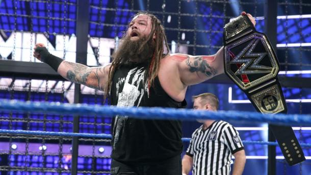 New WWE Champion Bray Wyatt. Photo: wwe.com